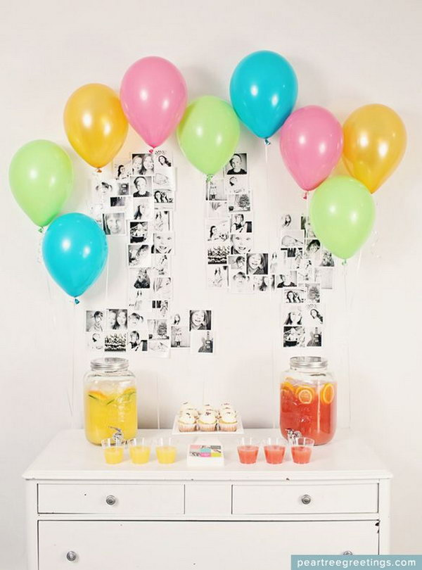 13 graduation party decoration ideas - 25 DIY Graduation Party Decoration Ideas