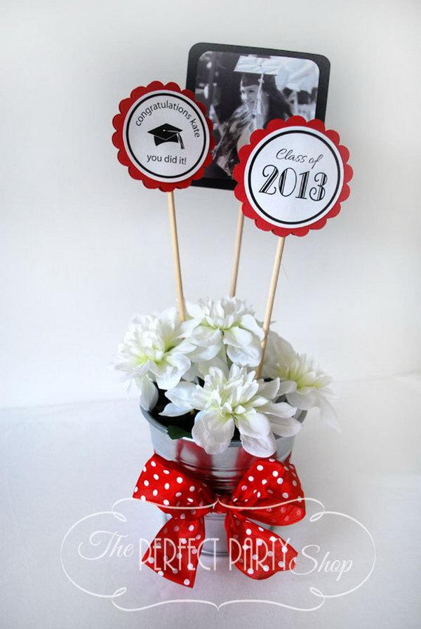16 graduation party decoration ideas - 25 DIY Graduation Party Decoration Ideas