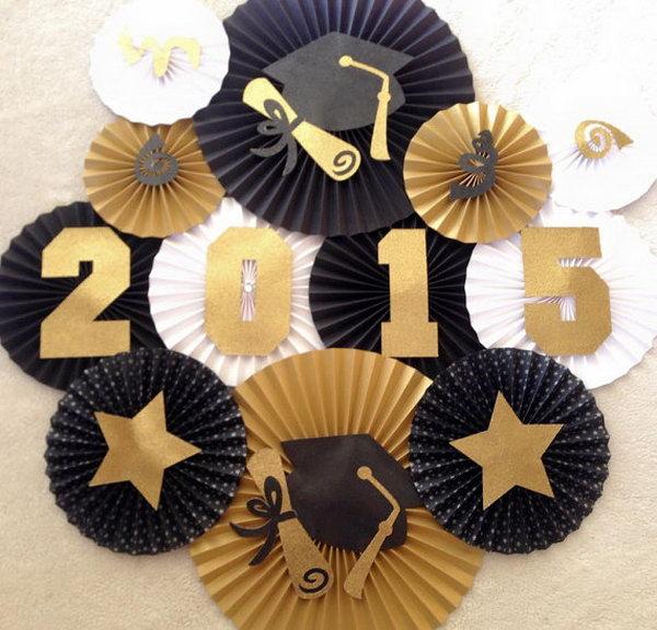 19 graduation party decoration ideas - 25 DIY Graduation Party Decoration Ideas