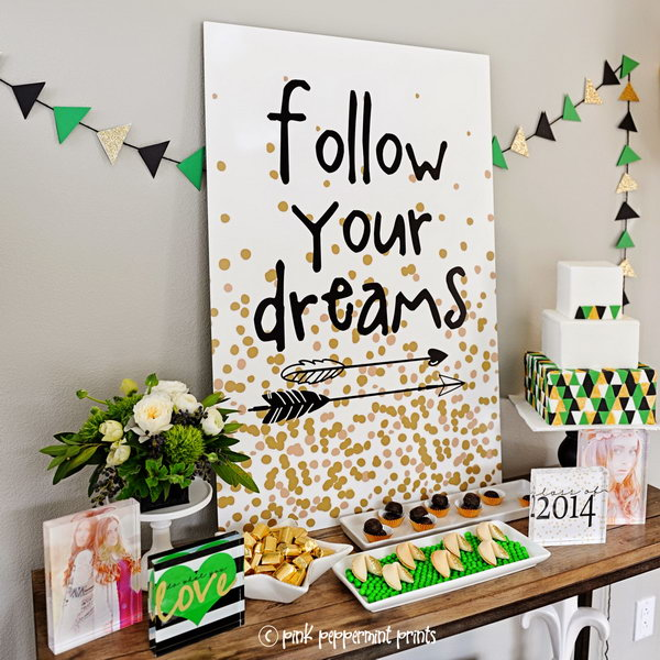 9 graduation party decoration ideas - 25 DIY Graduation Party Decoration Ideas