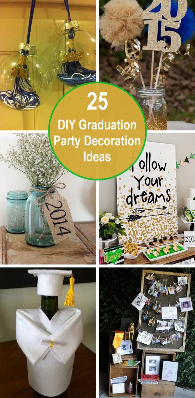 graduation party decoration ideas - 25 DIY Graduation Party Decoration Ideas