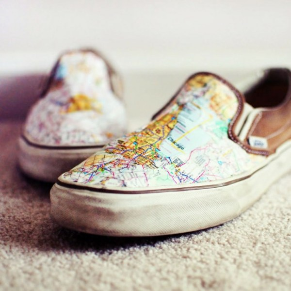 12 diy map projects - 25 Creative DIY Map Projects