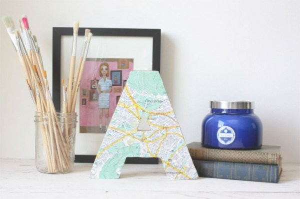 15 diy map projects - 25 Creative DIY Map Projects