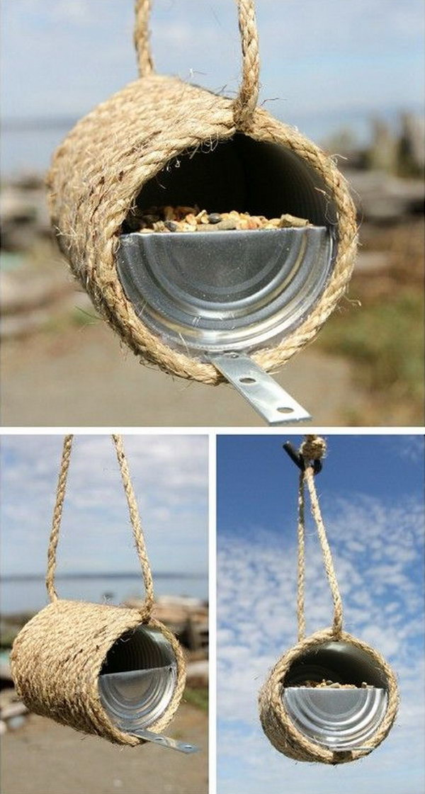14 rope crafts - 25 DIY Rope Craft Ideas