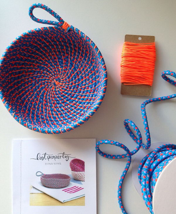 22 rope crafts - 25 DIY Rope Craft Ideas