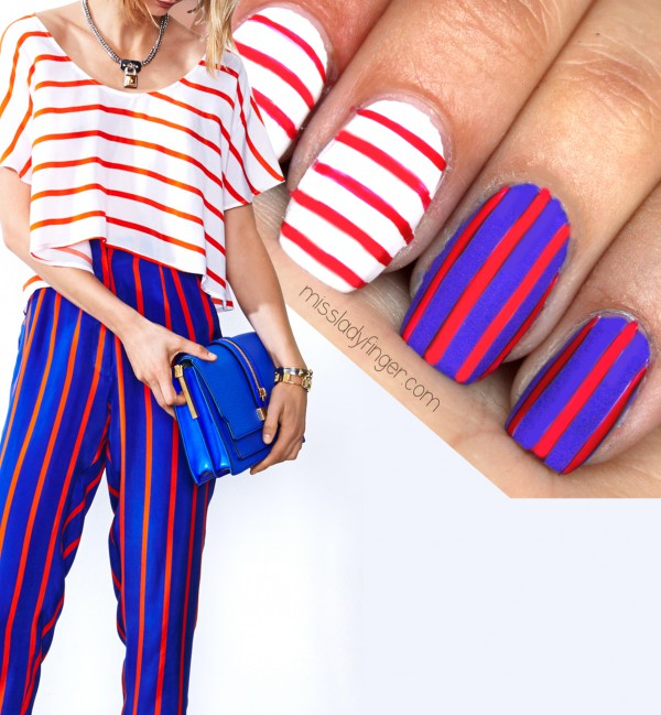 30 american flag stripes stars nails - 30+ American Flag Inspired Stripes and Stars Nail Ideas & Tutorials