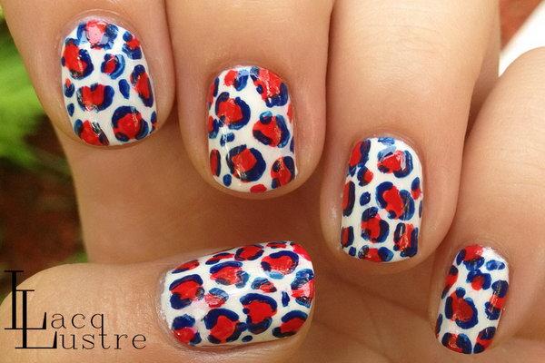 19 cute 4th of july patriotic nail art - 36 Cute 4th of July Patriotic Nail Art Ideas