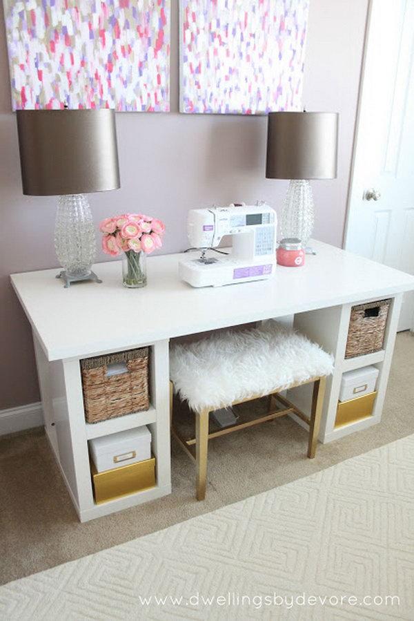 15 ikea desk hacks - 20+ Cool and Budget IKEA Desk Hacks