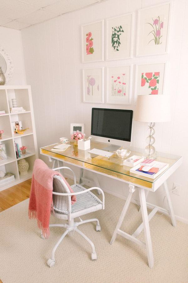 2 ikea desk hacks - 20+ Cool and Budget IKEA Desk Hacks