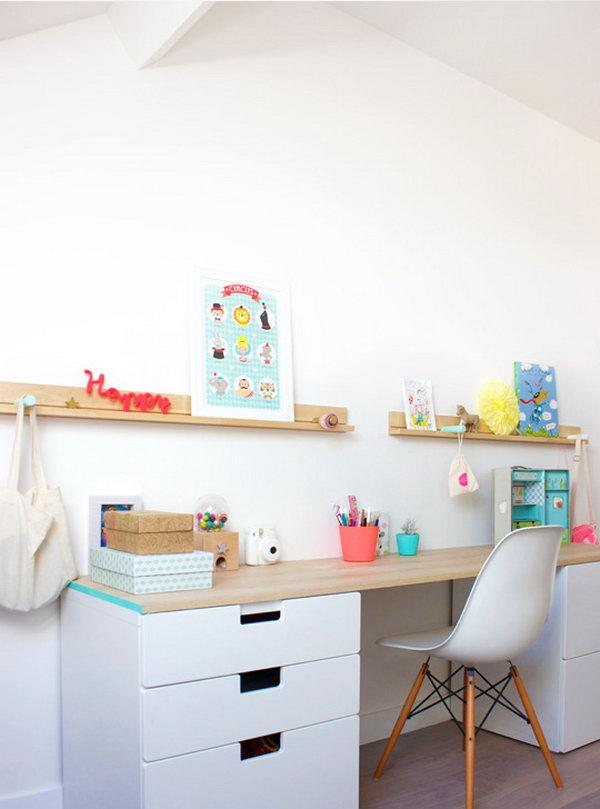 20 ikea desk hacks - 20+ Cool and Budget IKEA Desk Hacks