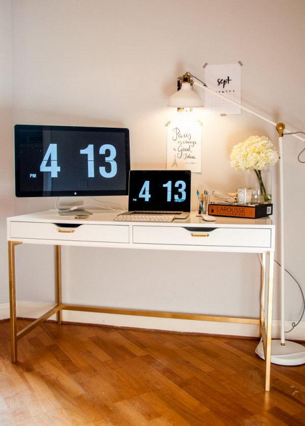 25 ikea desk hacks - 20+ Cool and Budget IKEA Desk Hacks