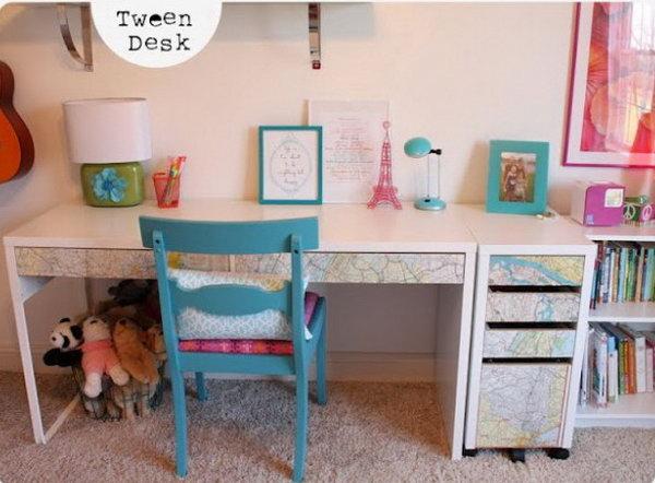 6 ikea desk hacks - 20+ Cool and Budget IKEA Desk Hacks
