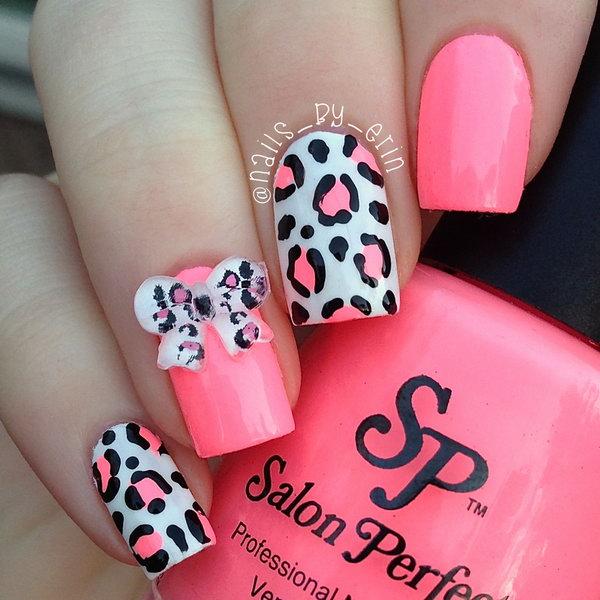 21 bow nail design ideas - 45 Wonderful Bow Nail Art Designs