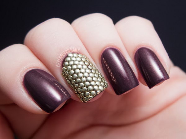 20 purple nail art designs - 30+ Trendy Purple Nail Art Designs You Have to See