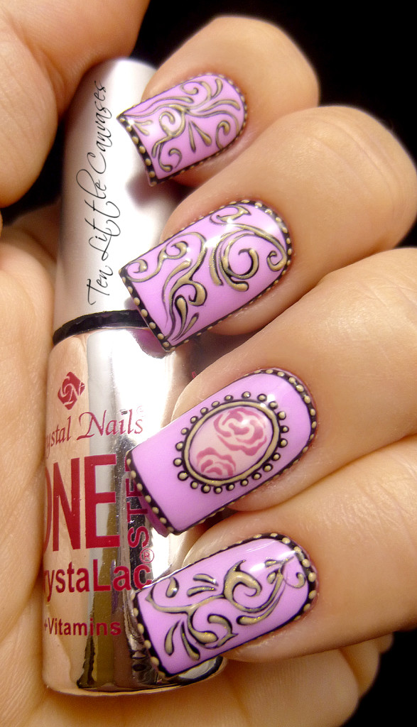 24 purple nail art designs - 30+ Trendy Purple Nail Art Designs You Have to See