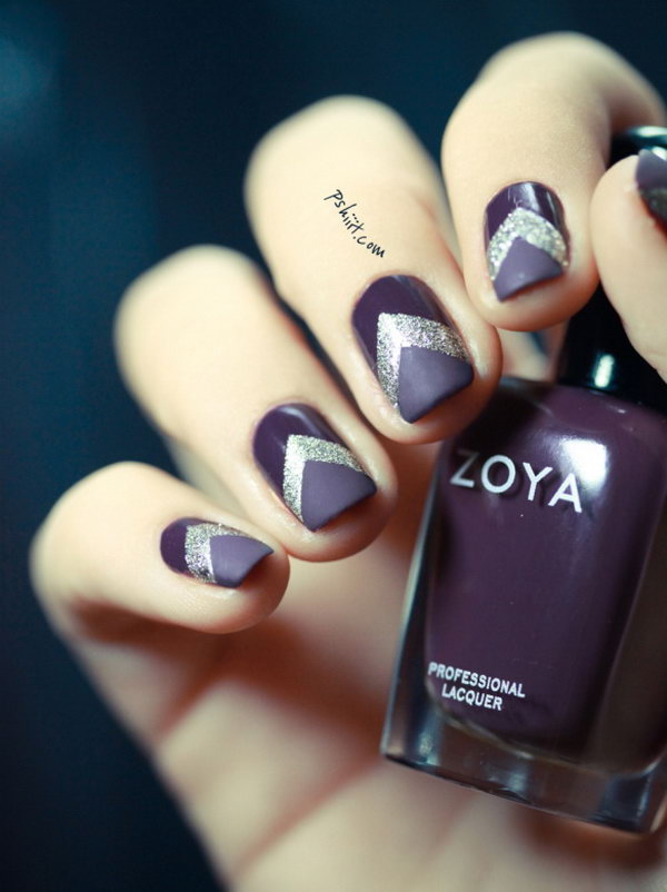 26 purple nail art designs - 30+ Trendy Purple Nail Art Designs You Have to See
