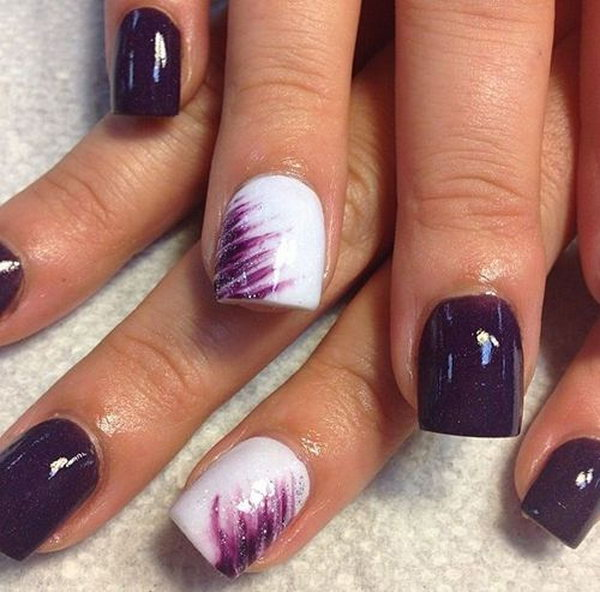 34 purple nail art designs - 30+ Trendy Purple Nail Art Designs You Have to See