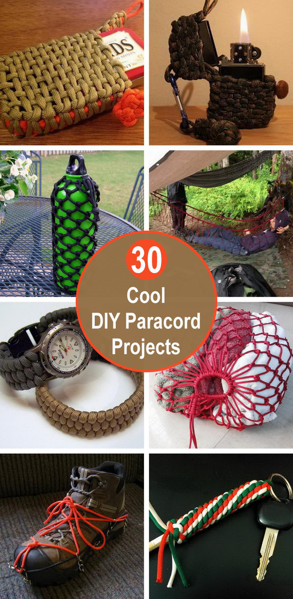 diy paracord projects - Cool DIY Paracord Projects
