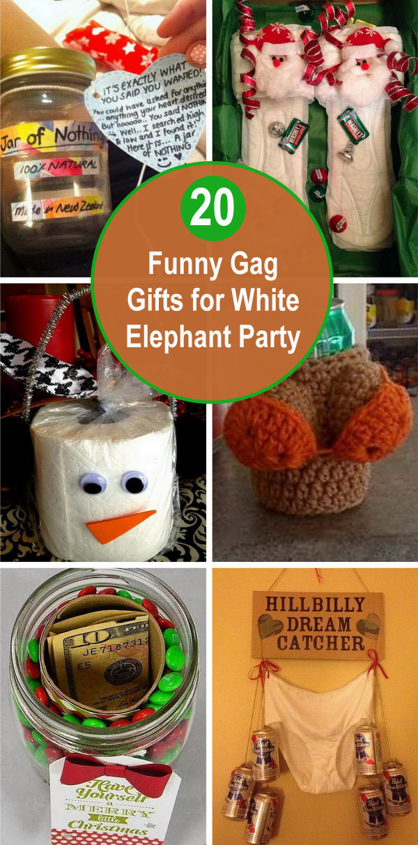 funny gag gifts - 20 Funny Gag Gifts for White Elephant Party