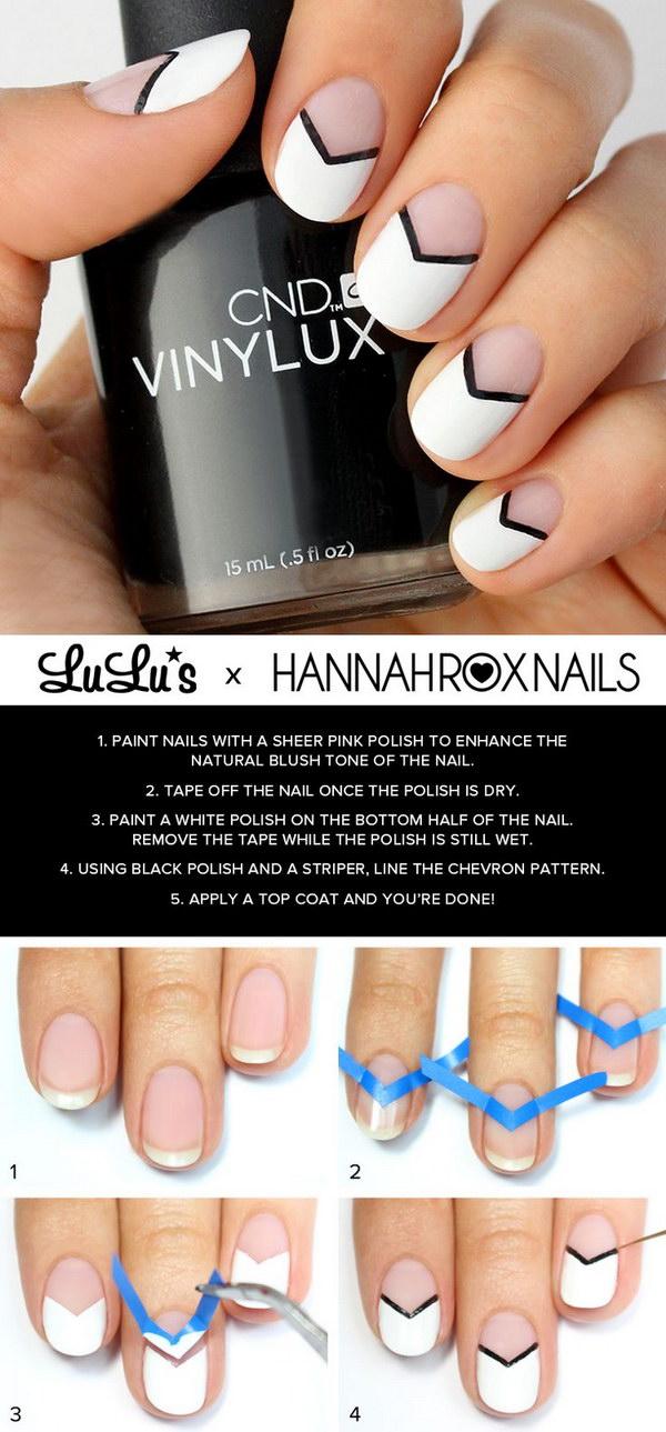 26 black and white nail designs - 80+ Black And White Nail Designs