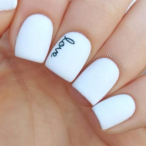 49 black and white nail designs - 80+ Black And White Nail Designs