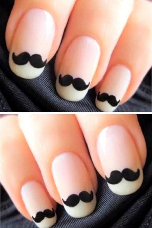 76 black and white nail designs - 80+ Black And White Nail Designs