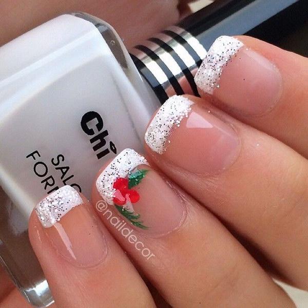 14 christmas nail art designs - 50 Festive Christmas Nail Art Designs