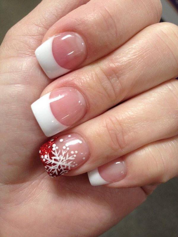 15 christmas nail art designs - 50 Festive Christmas Nail Art Designs