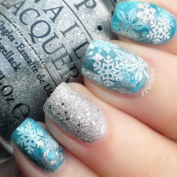 28 christmas nail art designs - 50 Festive Christmas Nail Art Designs
