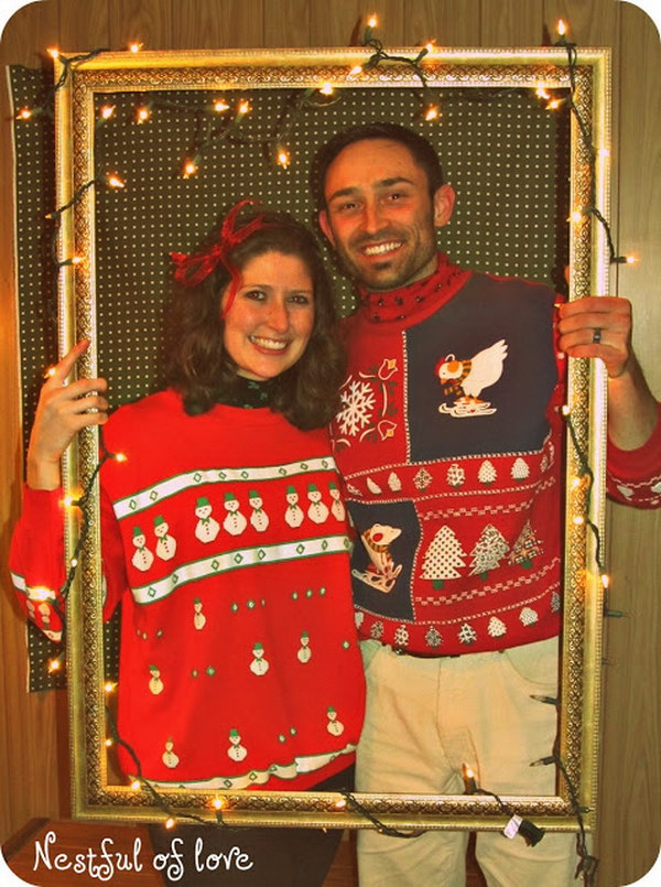 18 ugly christmas sweater party ideas - 20 Ugly Christmas Sweater Party Ideas