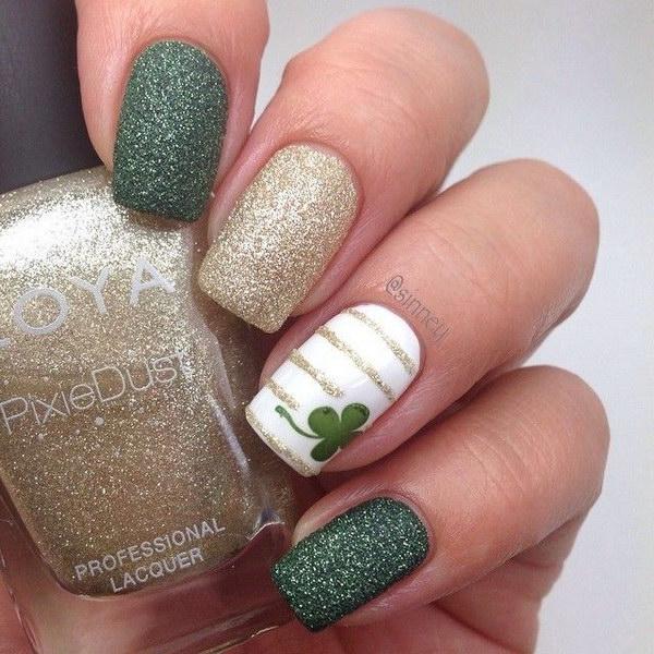 100 green nail art designs - 100+ Awesome Green Nail Art Designs