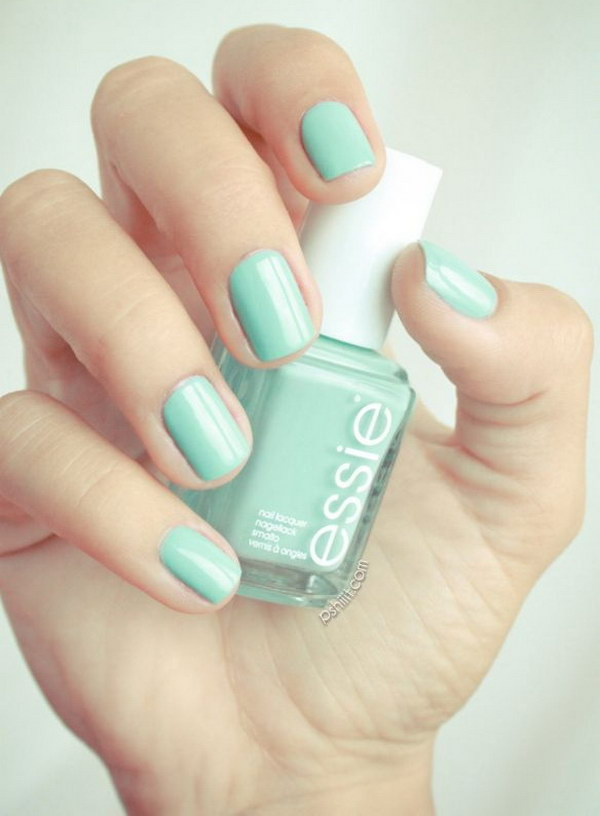 29 green nail art designs - 100+ Awesome Green Nail Art Designs