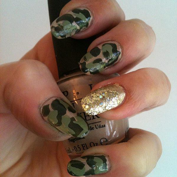 98 green nail art designs - 100+ Awesome Green Nail Art Designs