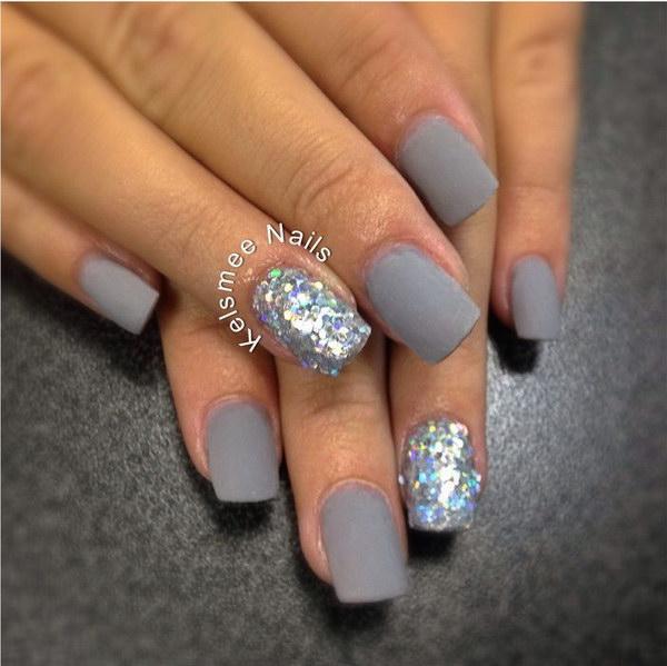 17 matte nail designs - 60 Pretty Matte Nail Designs