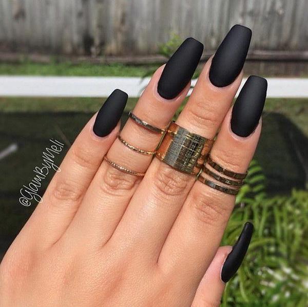 3 matte nail designs - 60 Pretty Matte Nail Designs