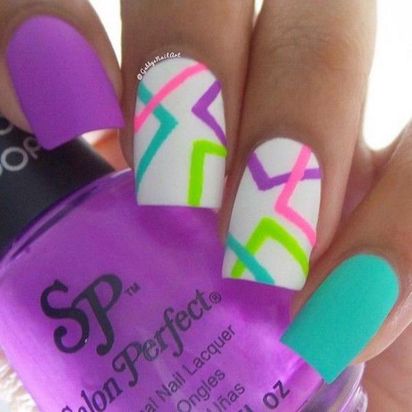 34 matte nail designs - 60 Pretty Matte Nail Designs