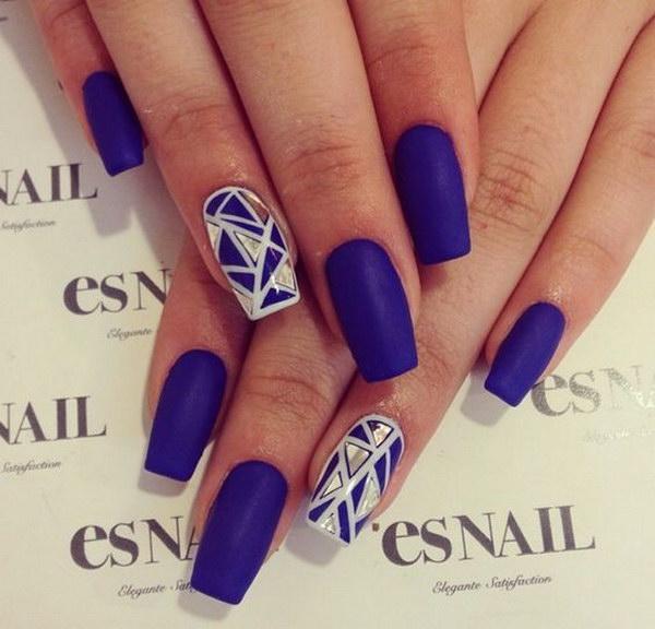 40 matte nail designs - 60 Pretty Matte Nail Designs