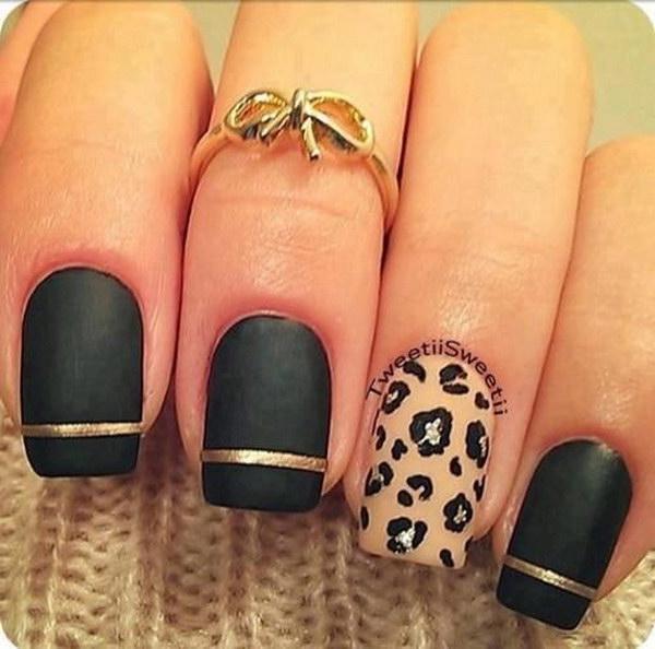 41 matte nail designs - 60 Pretty Matte Nail Designs