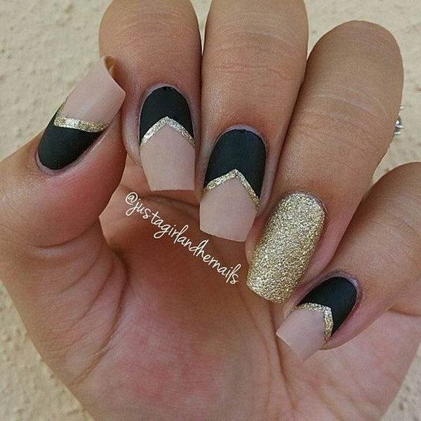 46 matte nail designs - 60 Pretty Matte Nail Designs
