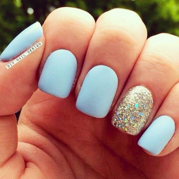 7 matte nail designs - 60 Pretty Matte Nail Designs