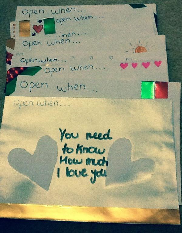 When Ideas Letters Open Your Boyfriend