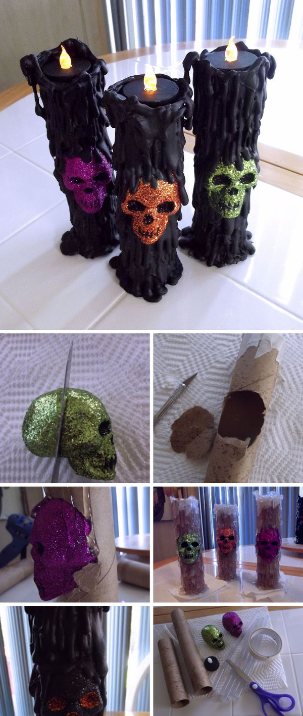 1 26 dollar store crafts for halloween - 30 Dollar Store DIY Projects for Halloween