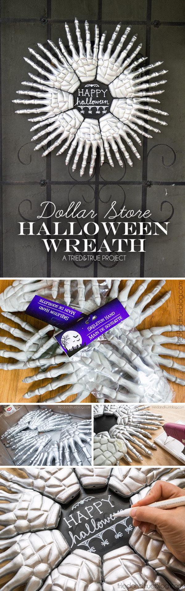 2 dollar store crafts for halloween - 30 Dollar Store DIY Projects for Halloween