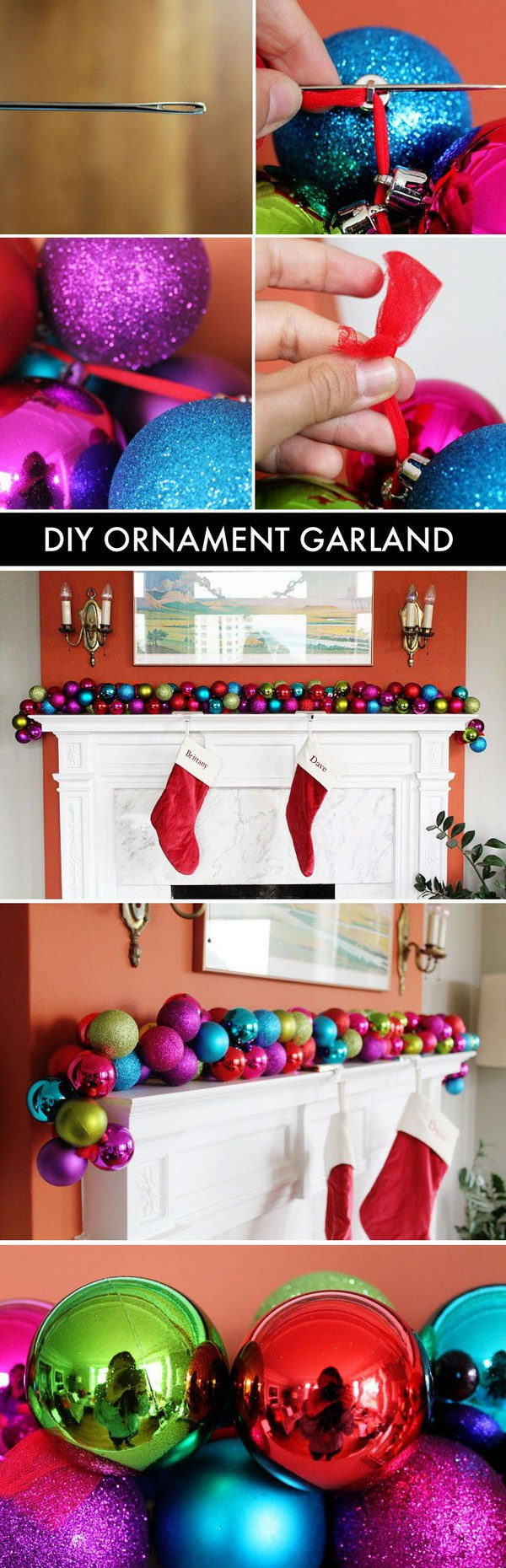 24 christmas decoration ideas - 25+ Easy & Cool DIY Christmas Decoration Ideas