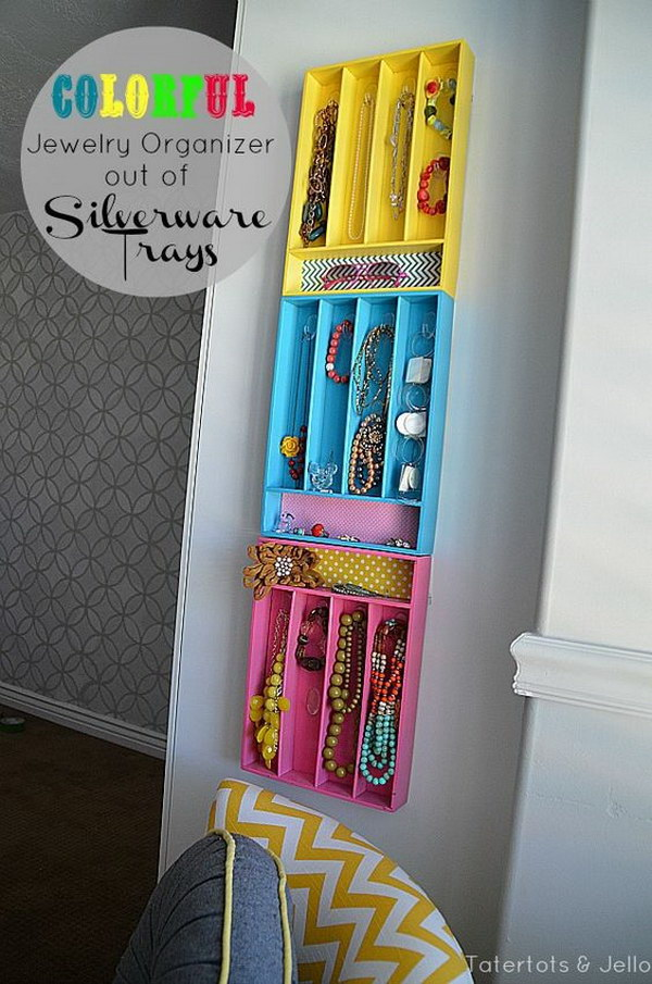 19 dollar store organizing ideas - Cool Dollar Store Organizing & Storage Ideas