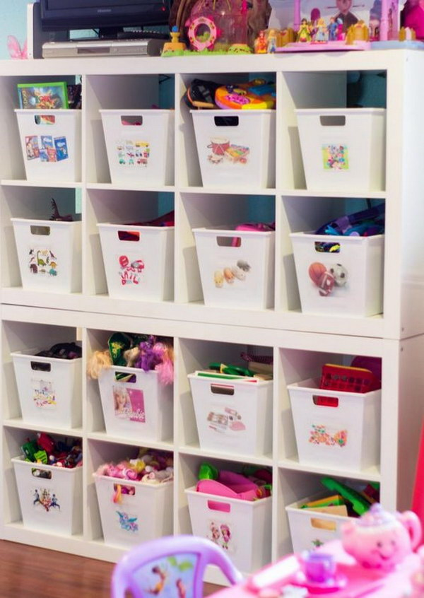 24 dollar store organizing ideas - Cool Dollar Store Organizing & Storage Ideas