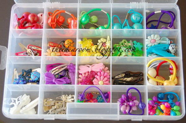 26 dollar store organizing ideas - Cool Dollar Store Organizing & Storage Ideas