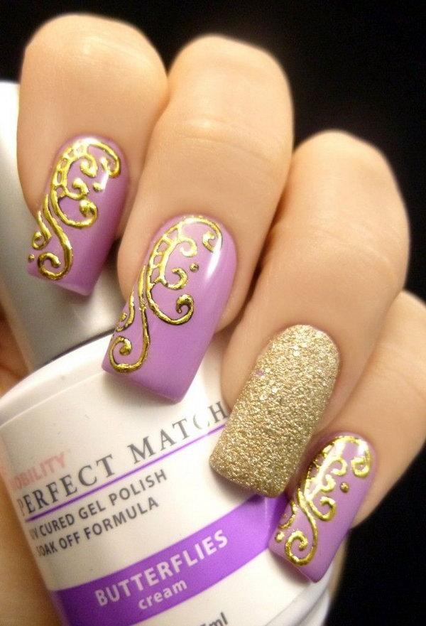 26 butterfly nail art designs - 30+ Pretty Butterfly Nail Art Designs