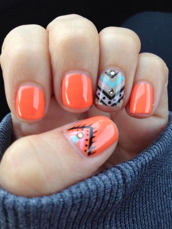 10 fall nail art designs - Fall Nail Art Designs