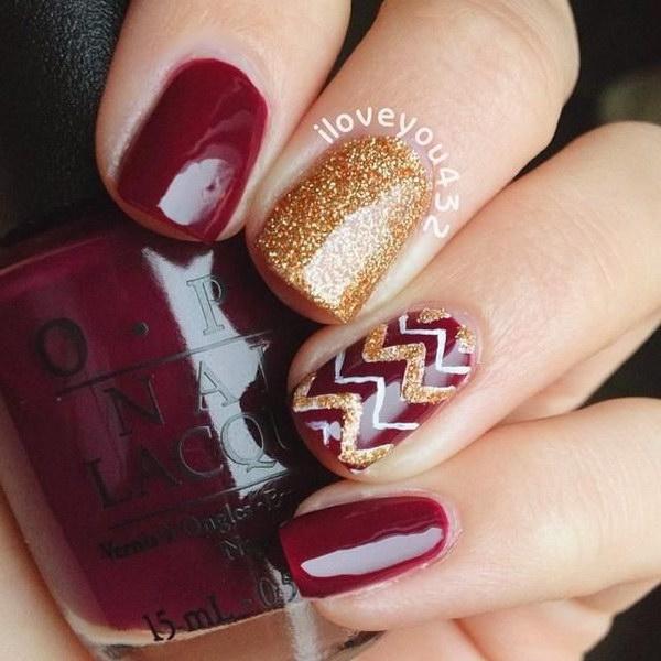 14 fall nail art designs - Fall Nail Art Designs